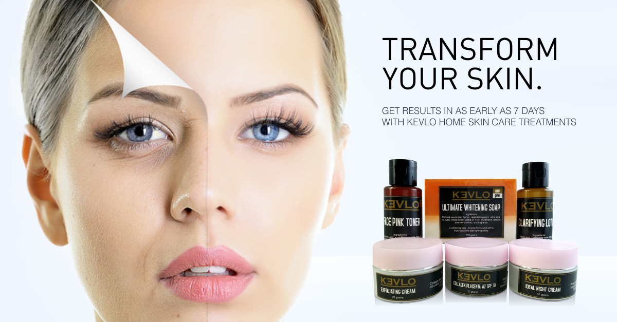 Try the KEVLO Facial Sets to help transform your skin in as early as 7 days!